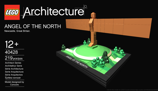 LEGO Ideas - Angel of the North by Concore