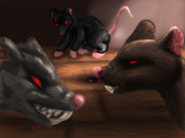 Rats (Redefined) by Dani-Claw