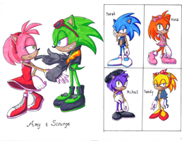 Scourge and Amy: The Hypothetical Family by HopelessPandora