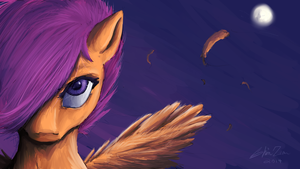 Scootaloo Speedpaint by ShinZm1911
