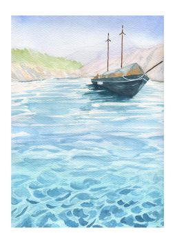 Boat by someowlsarenot