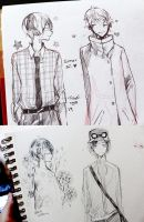 sketches by mano-k