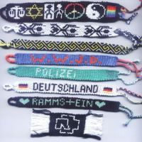 friendship bracelets by lonely--soldier