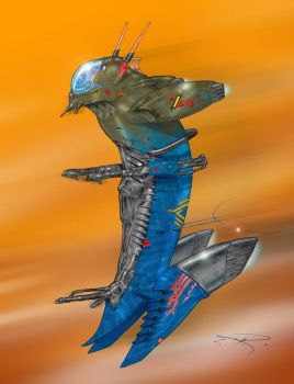 Sea Dragon ZV00-Fighter by mavartworx