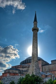Agia Sofia Mosque by Gil-Levy