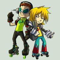 Comish - Jet set Radio by oneoftwo