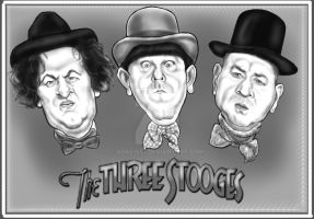 The Three Stooges by adavis57