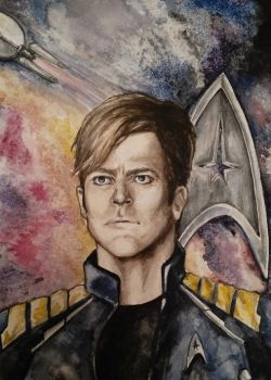 James T. Kirk (Star trek beyond) by MomentsOfBloom