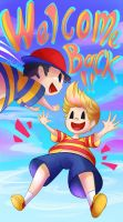 Welcome back Lucas!- LUCAS COMES OUT OF NOWHERE by Abakura