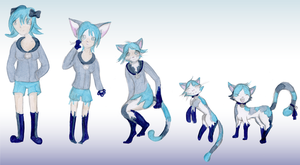 Commision - CiChrono - Cat TF by Luxianne