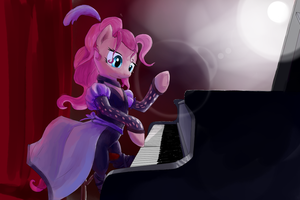 Grand piano by Qweeli