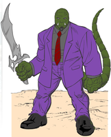 Skrull by andy138