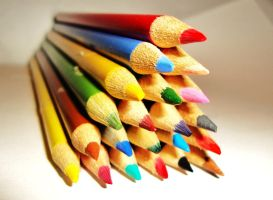 Pencil Pyramid 2 by Laura-in-china