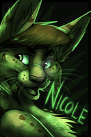 Nicole Badge by Nicay