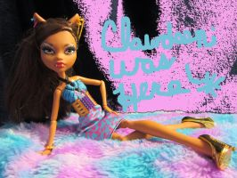 Clawdeen Was Here! by halogirl81