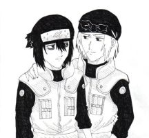 Genma and Hayate by Oboro-Nin