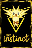 Team Instinct chibi by jaleh