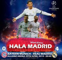 Bayern Munich - Real Madrid 2014 by jafarjeef