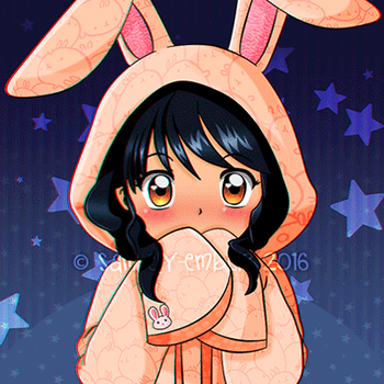 Xian: Pyon~ hopped the bunny by sam-ely-ember