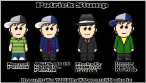 Welcome Patrick Stump by XOwentzXO