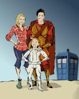 Doctor Who Charicatures! by EddieChingLives