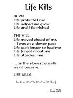 Life Kills by BL8antBand
