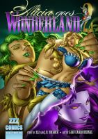 Alicia Goes Wonderland 2 Cover by zzzcomics