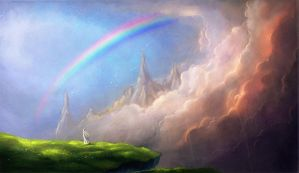 I wanna see a rainbow by Fabera