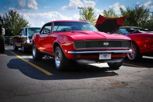 Red Camaro SS by theCrow65