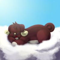 Napping on Cloud Nine by Battyniconi