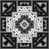 elegant black and white ms paint by rayna23