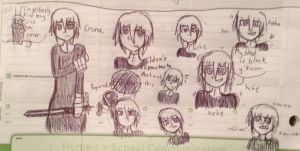 Chrona Doodles by Prussianess