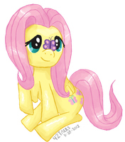 Fluttershy Butterfly by fortytwotrees