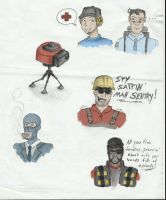 Old TF2 skethes by Kritzkreig