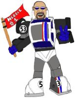 Me as Autobot Herbie by LittleBigDave