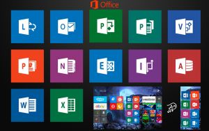 Microsoft Office 2013 Tiles - Windows 8 by davi5alexander