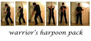 warrior's harpoon pack by syccas-stock