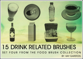 FOOD BRUSH COLLECTION - Drink by Special-K-001