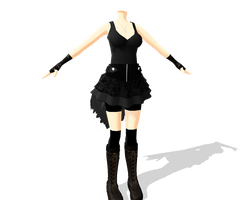MMD Almost done by kurumi13