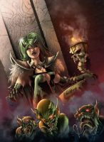 cover for Zenescope Grimm Universe #3 Cover by Yleniadn86
