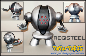 Registeel Papercraft by Skeleman