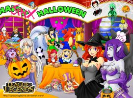 League of Legends Halloween Party!!! by AyaYanagisawa