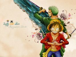 One Piece Wallpaper by linzao
