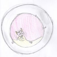 mammoth mutt in a bubble by renske99
