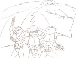 Battletoads and Godzilla: The Ultimate Team by JimmyTwoTimes2K9