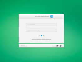 Windows 9 Login Concept by REVODSGN