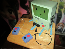 My Own BMO Craft by Jailboticus