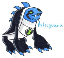 Articguana by YouCanDrawIt