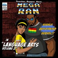 Mega Ran in Language Arts Vol.2 cover by levonn78