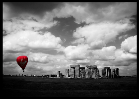 Stonehenge by in-transit